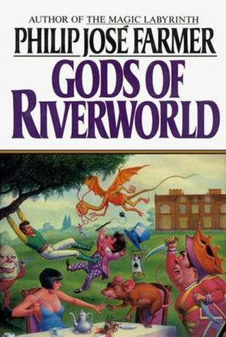 Gods of Riverworld - Cover by Don Punchatz