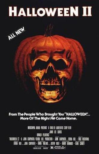 Halloween II (1981 film) - Theatrical release poster