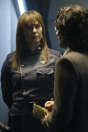 Pegasus (Battlestar Galactica) - Critics praised Michelle Forbes's performance as Admiral Cain.