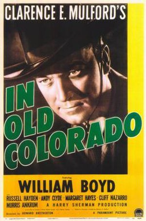 In Old Colorado - Theatrical release poster