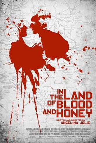 In the Land of Blood and Honey - Theatrical release poster