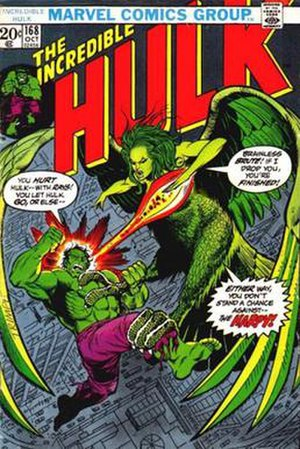 Betty Ross - Image: Incredible Hulk 168