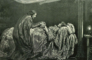 Shakespeare's late romances - Henry Irving and Ellen Terry in Irving's elaborate 1896 production of Cymbeline