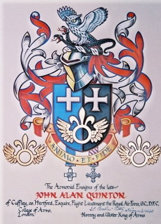 John Quinton - Coat of Arms