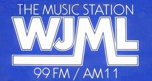 WJML - Logo from 1981 bumper sticker
