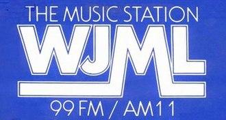 WJML - Logo from 1981 bumper sticker