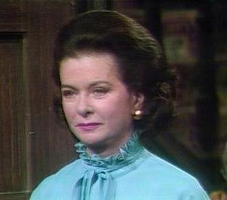 Joan Bennett - in TV's Dark Shadows