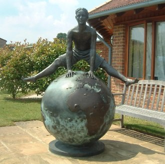 Shooting Star Children's Hospices - The 'Journey' statue at Christopher's