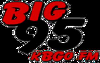 KBGO - Image: KBGO BIG95 logo
