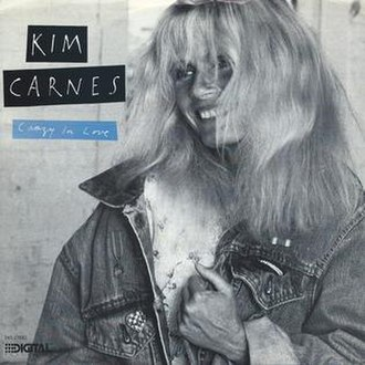 Crazy in Love (Kim Carnes song) - Image: Kim love