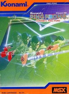 <i>Konamis Ping Pong</i> 1985 video game