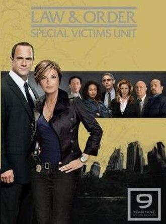 Law & Order: Special Victims Unit (season 9) - Season 9 U.S. DVD cover