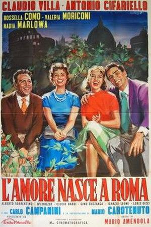 L'amore nasce a Roma - Image: L'amore nasce a Roma
