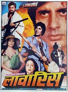 <i>Laawaris</i> (1981 film) 1981 Indian film directed by Prakash Mehra