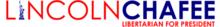 Logotipo de la campaña presidencial de Lincoln Chafee 2020.webp