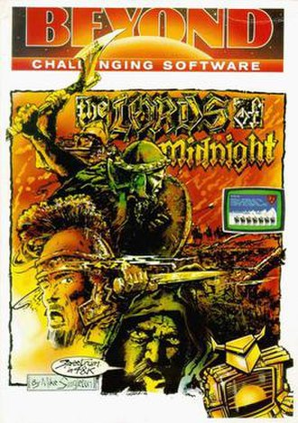 The Lords of Midnight - Cover art
