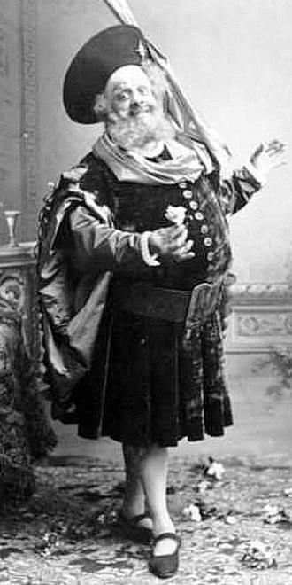 Falstaff (opera) - Lucien Fugère in the title role, 1894