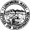 Official seal of Lunenburg, Massachusetts