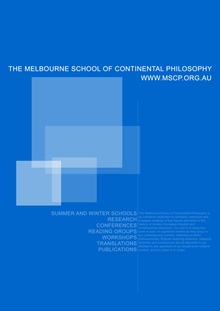 Melbourne School of Continental Philosophy - Wikipedia