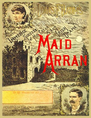 The Maid of Arran - Cover of the songbook