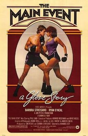 The Main Event (1979 film) - Theatrical release poster