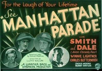 Manhattan Parade - Image: Manhattanparade 1932