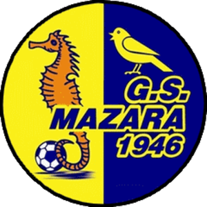 Mazara Calcio A.S.D. - First logo of the club after the 1996 fusion
