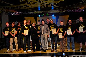 CV Productions, Inc. - Induction of original Tough Guy Contestants into the MMA Hall of Fame, May 30, 2010