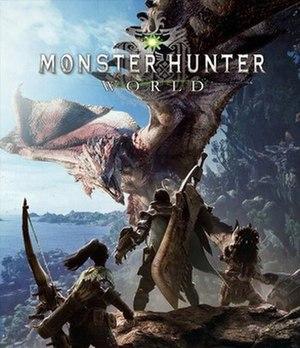 Monster Hunter: World - Image: Monster Hunter World cover art