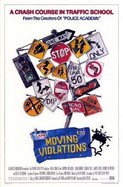Picture of a movie: Moving Violations