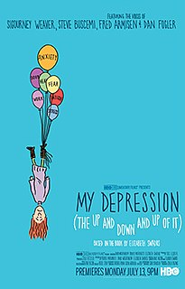 <i>My Depression (The Up and Down and Up of It)</i> 2014 animated short film directed by Elizabeth Swados
