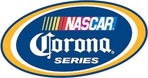 NASCAR PEAK Mexico Series - NASCAR Corona Series logo, 2007–2010