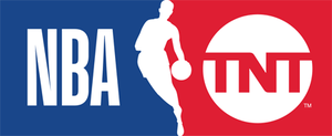 NBA on TNT - Current logo, with the new NBA and TNT marks respectively, used since the 2017–18 NBA season