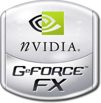 GeForce FX series - GeForce FX logo