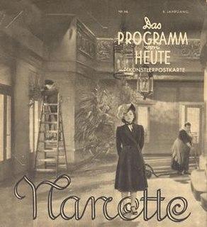<i>Nanette</i> (film) 1940 film by Erich Engel