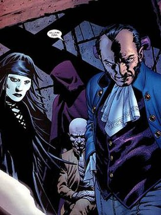 Hellfire Club (comics) - Emma Frost's illusory Inner Circle (left to right): Negasonic Teenage Warhead, Perfection, Cassandra Nova,  and Sebastian Shaw