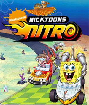 Nicktoons Nitro - Image: Nicktoons Nitro Poster