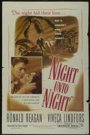 Night Unto Night - Theatrical release poster