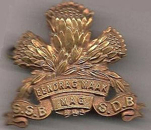 Special Service Battalion - Image: OLD SSB CAP BADGE