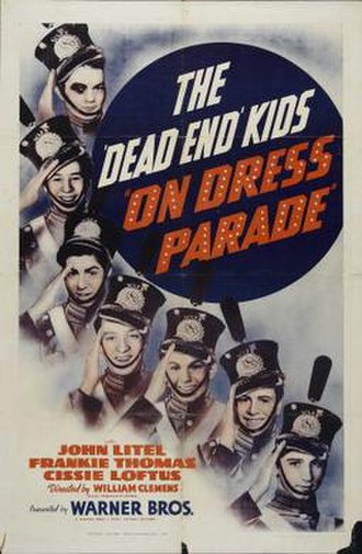 On Dress Parade - Image: On Dress Parade Film Poster