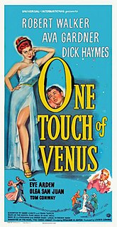 <i>One Touch of Venus</i> (film) 1948 film by William A. Seiter