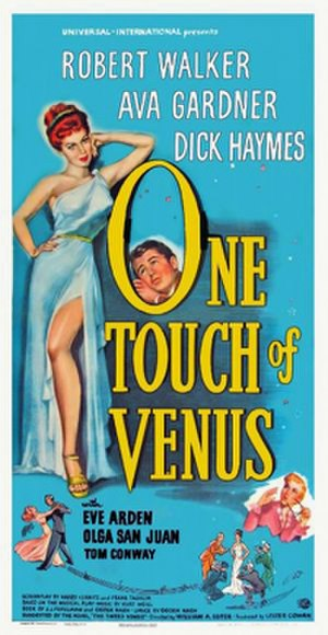 One Touch of Venus (film) - Theatrical release poster