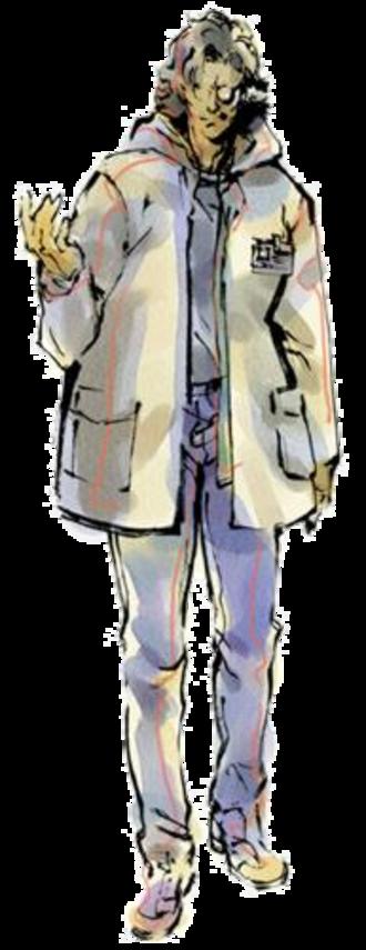 Otacon - Otacon as seen in Metal Gear Solid, illustrated by Yoji Shinkawa