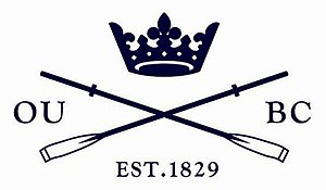 Oxford University Boat Club - Image: Oxford OUBC logo