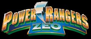 Power Rangers Zeo - Image: PR Zeo logo