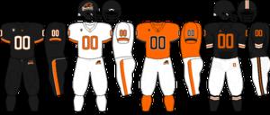 2010 Oregon State Beavers football team - Image: Pac 10 Uniform OSU 2010