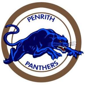 Penrith Panthers - Image: Penrith logo 1988