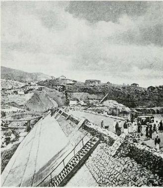 Periyar Dam during construction