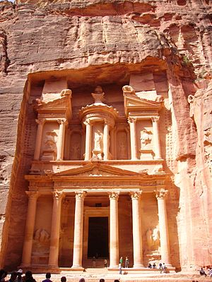 Petra is an extraordinary archaeological site ...
