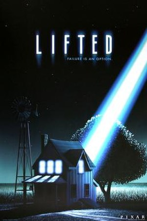 Lifted (2006 film) - Image: Pixar Lifted Poster